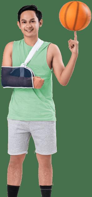Muda gemar olahraga dan menjaga jiwa, Super Safe Protection
